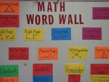 word wall enriching minds